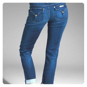 Hudson Jeans Bacara Crop Straight Cuffed
